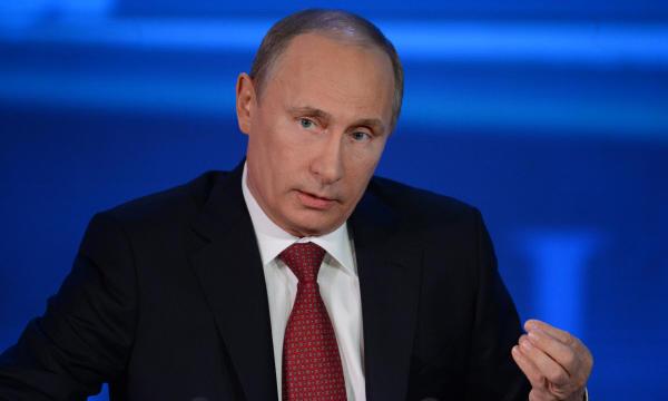 Пресс-конференция Путина: назад мы сдавать не будем