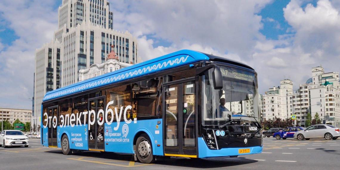 Москва сэкономила 413 млн. рублей за счет эксплуатации электробусов