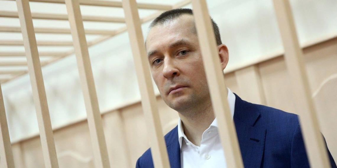 Полковник Захарченко получил 13 лет строгого режима