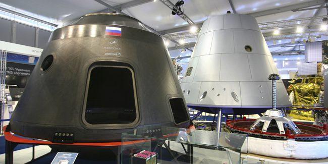 """Конструктор рассказал о проекте пилотируемого космического корабля """"Федерация"""""""
