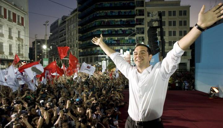 Победа левых на выборах в Греции привела к резкому падению евро к доллару
