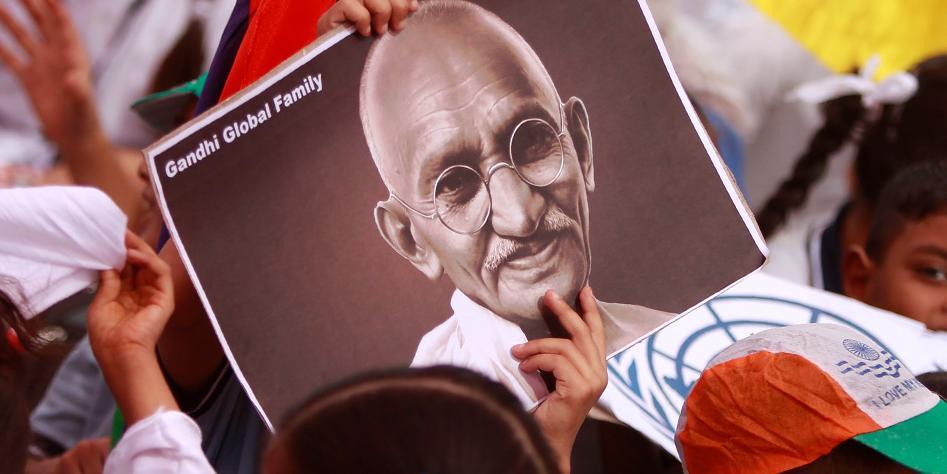 В Индии украли прах Ганди в день его 150-летия