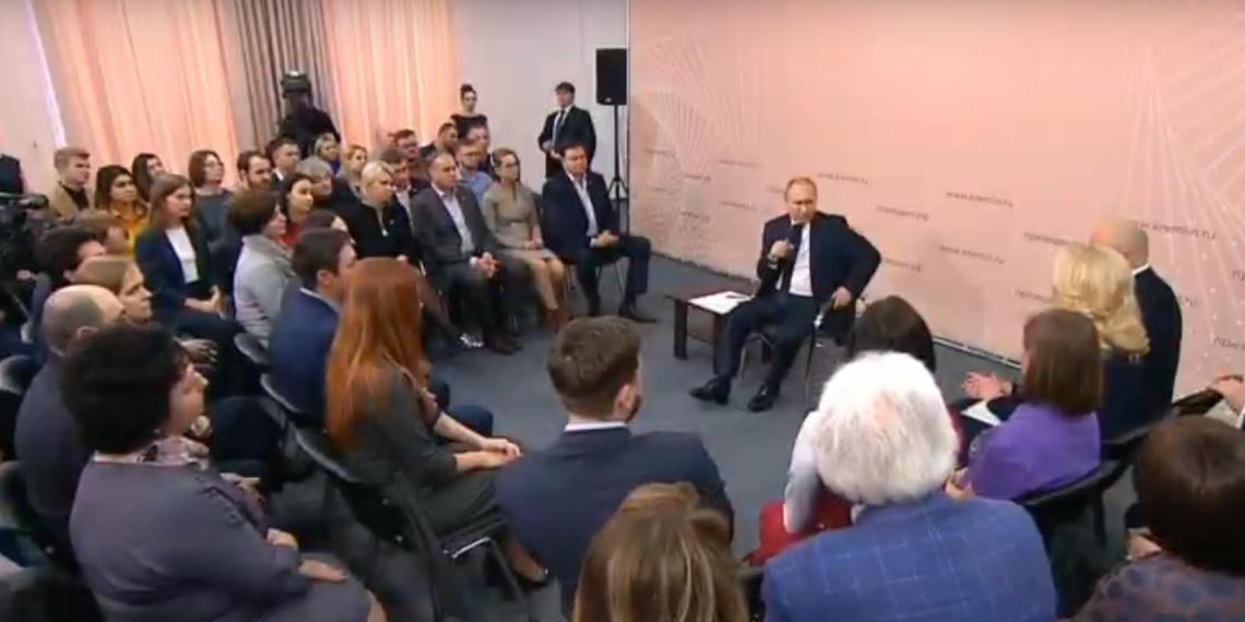 Путин: продукты для обеспечения школ регионов горячим питанием нужно закупать у местных производетелй