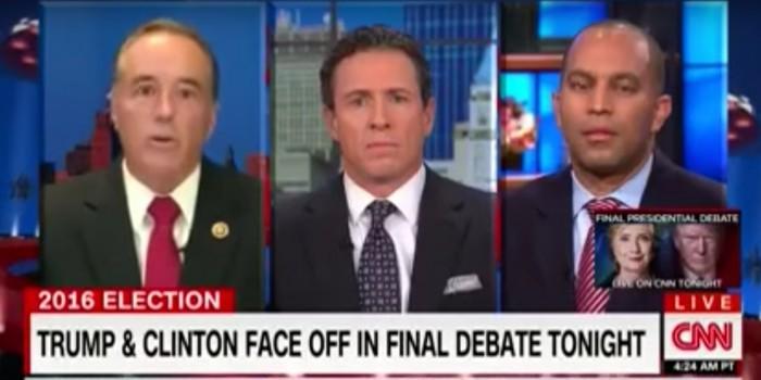 Конгрессмену в эфире CNN не позволили прокомментировать данные WikiLeaks о Клинтон