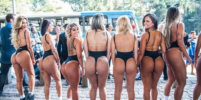 """""""Мисс Бум-бум-2017"""": В Бразилии снова выбирают обладательницу самых красивых ягодиц"""