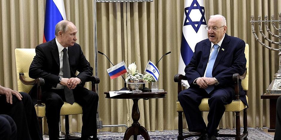 Путин: Холокост - это общая трагедиия Израиля и России