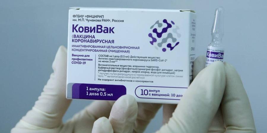 """В рамках просветительской кампании российского общества """"Знание"""" министр здравоохранения рассказал о вакцине """"КовиВак"""""""