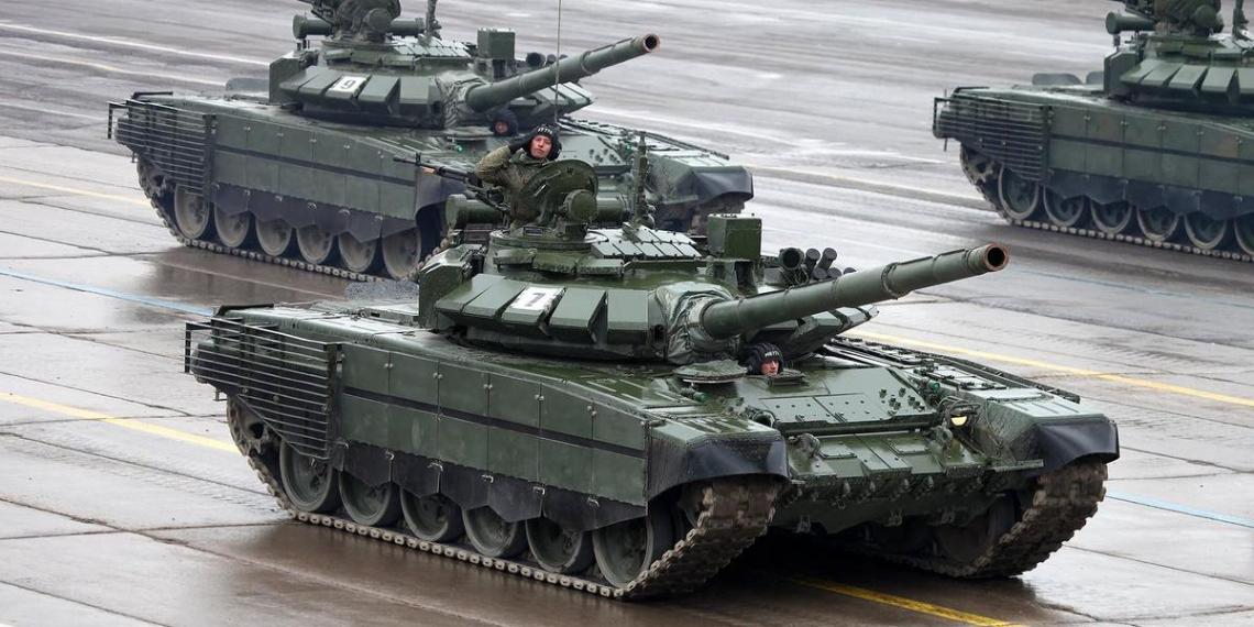Россия поставит в Сербию партию танков Т-72Б3