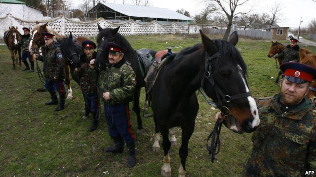 Донские казаки прибыли в Антрацит