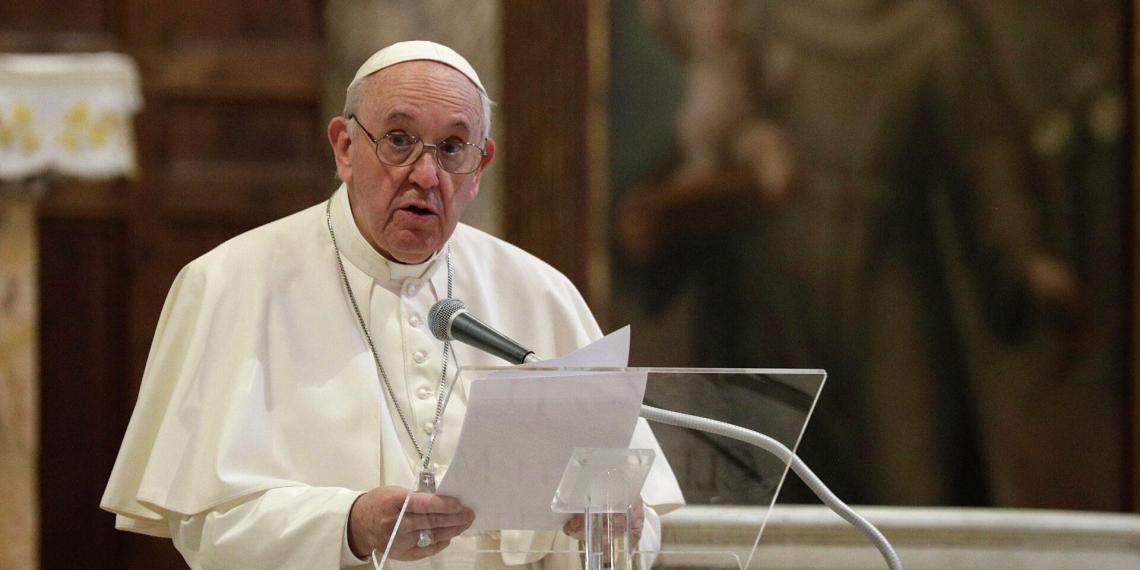 Папа римский: глобальное потепление приведет к новому Всемирному потопу