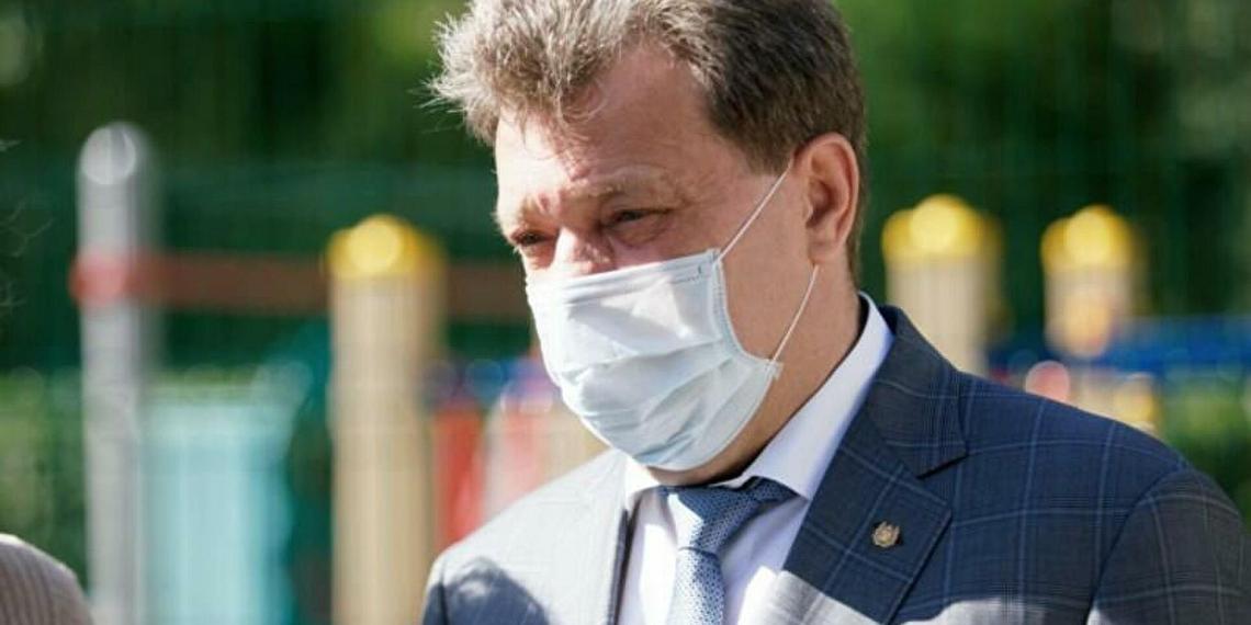 Мэра Томска Ивана Кляйна отстранили от должности
