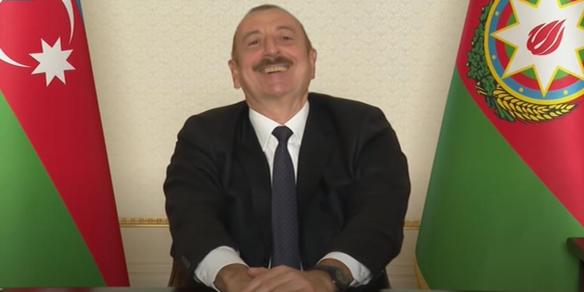 """""""Где твой статус Карабаха?"""": Алиев поиздевался над Пашиняном в видеообращении"""