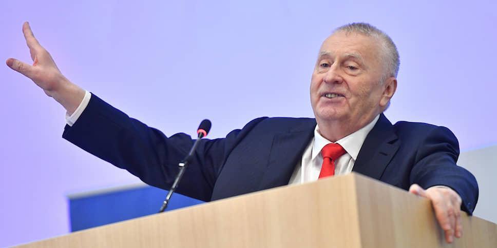 Жириновский предложил усмирить молодежь публичными домами