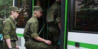 Научные роты Министерства обороны пополнились новыми призывниками