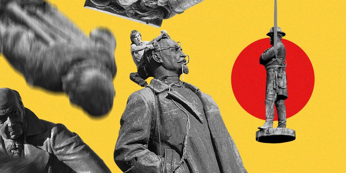 Побочный эффект демократии: почему снос памятников на Западе напоминает времена краха СССР