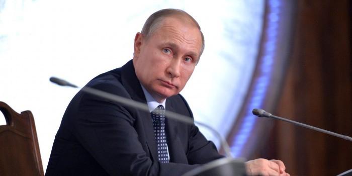 Путин отчитался о доходах за прошлый год