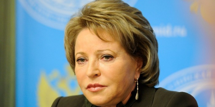 Матвиенко выразила сожаление в связи с делом Серебренникова
