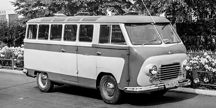 """В Чили обнаружили считавшийся """"вымершим"""" советский микроавтобус"""
