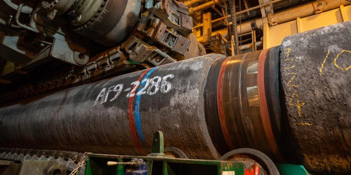 Оператор СП-2 анонсировал заполнение первой нитки газом