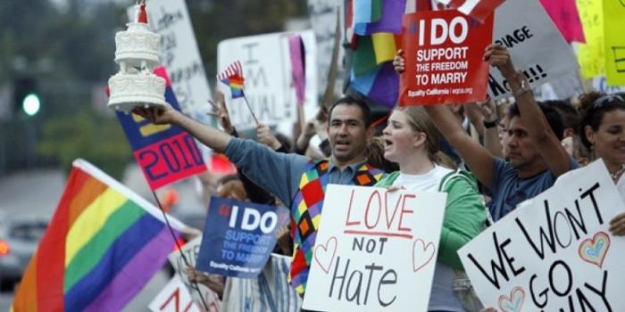 В Калифорнии запретили слова «муж» и «жена» в знак солидарности с геями