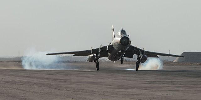 Возглавляемая США коалиция сбила самолет сирийских ВВС