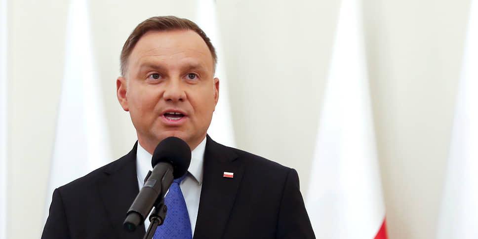 """Дуда назвал Россию """"ненормальной"""" страной"""