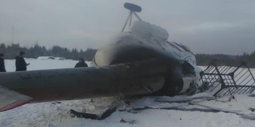 Под Томском потерпел крушение Ми-8 с пассажирами
