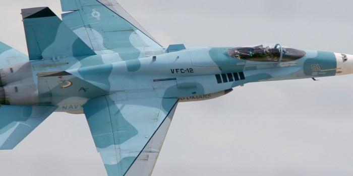 Американские военные маскируют F/A-18 под российские Су-34