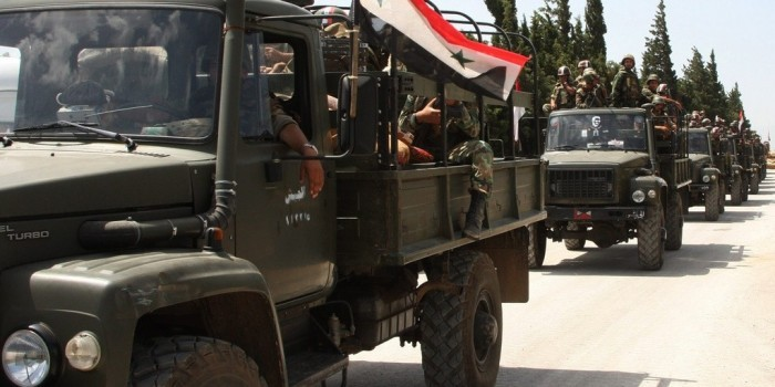 МИД: Россия продолжит оказывать военную помощь правительству Сирии