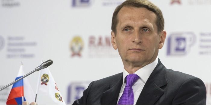 Нарышкин возглавит Службу внешней разведки