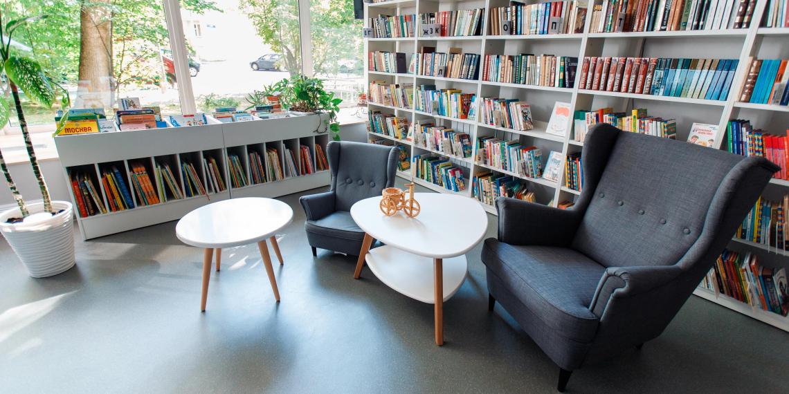 Собянин представил концепцию превращения библиотек в городские гостиные