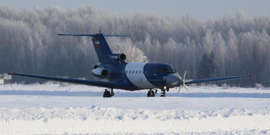 В России испытывают уникальный самолет с электродвигателем