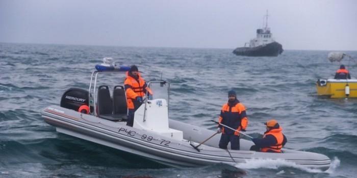 """Свидетель крушения Ту-154 сообщил о """"странной"""" посадке лайнера на воду"""