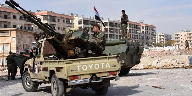 Сирийская армия нанесла боевикам разгромное поражение в Алеппо