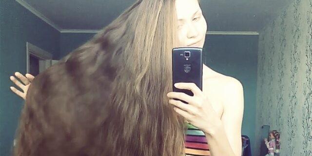 Русская Рапунцель: жительница Барнаула прославилась на Западе из-за длины волос
