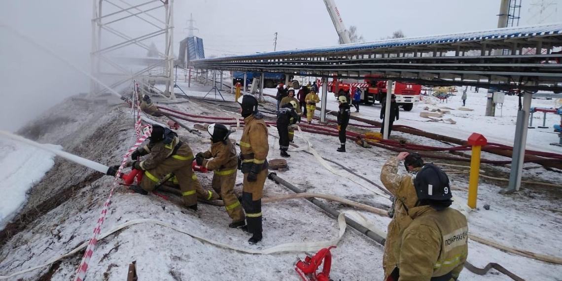 Под Оренбургом взорвался международный газопровод