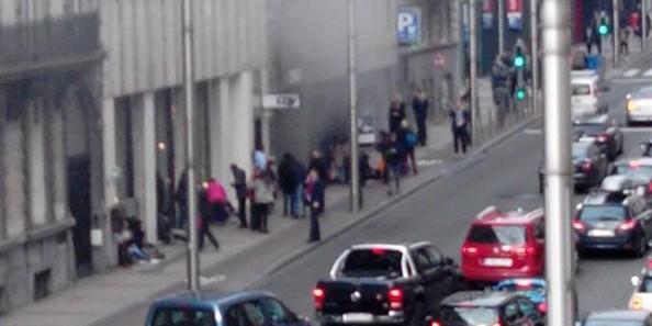В Брюсселе прогремел взрыв в метро рядом с учреждениями Евросоюза