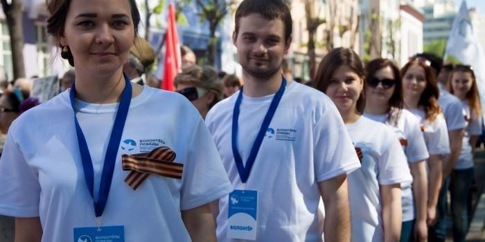 В парадах Победы примут участие 50 тысяч волонтеров