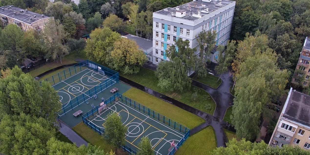 В Москве реконструируют все школьные дворы