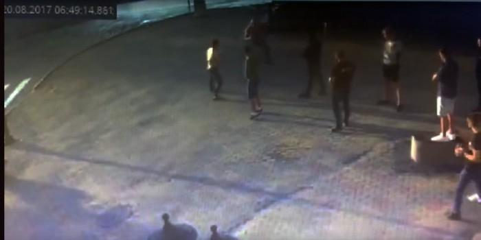 Появилось видео убийства чемпиона мира по пауэрлифтингу в Хабаровске