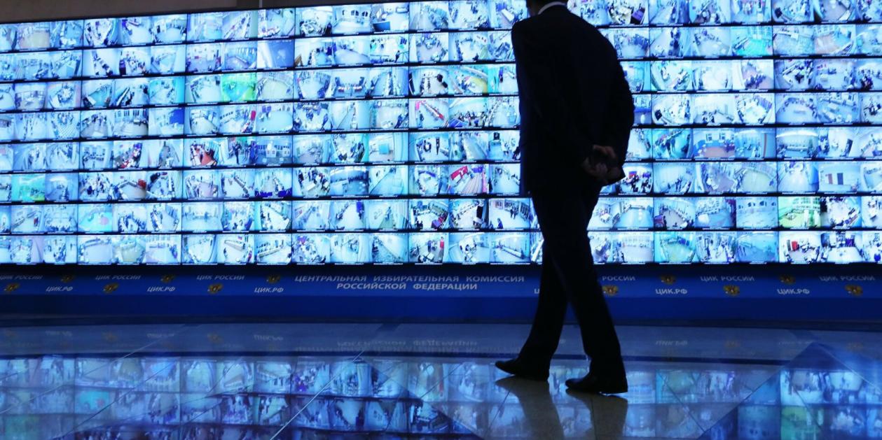 Онлайн-трансляции с избирательных участков одновременно смотрят 7,5 тысячи человек