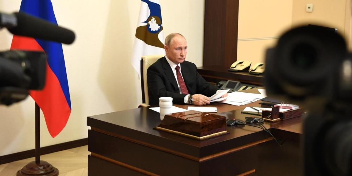 Президент РФ: работа единороссов в период пандемии дает повод провести аудит в рядах партии