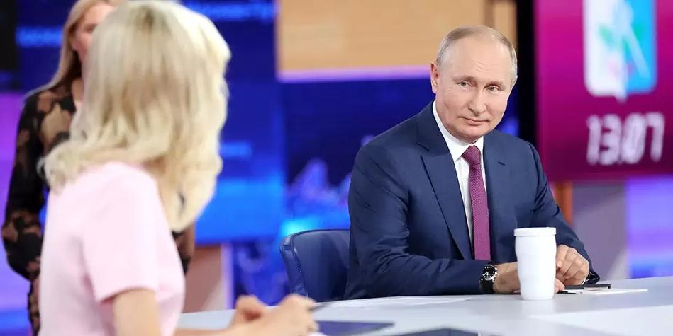 """Прямая линия — 2021 доказала ориентированность президента и """"Единой России"""" на нужды народа"""