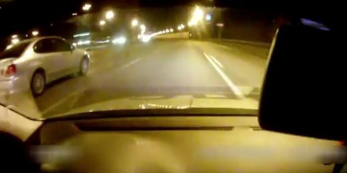 Инспектор ГИБДД испугался высокой скорости преследования пьяного гонщика в Москве