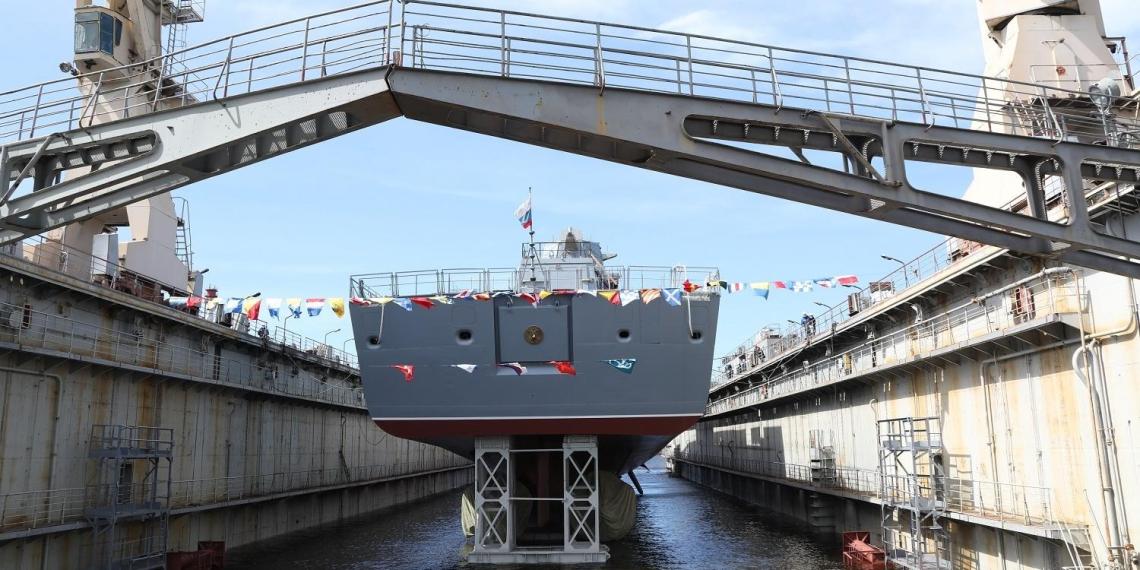 Россия впервые создала стелс-фрегат, не используя украинские двигатели
