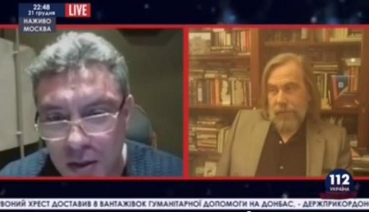 Немцов потребовал выгнать из эфира украинского ТВ политолога, который назвал его маргиналом