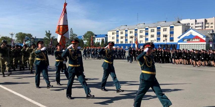 Военные парады в честь Дня окончания Второй мировой войны прошли на Сахалине и Камчатке