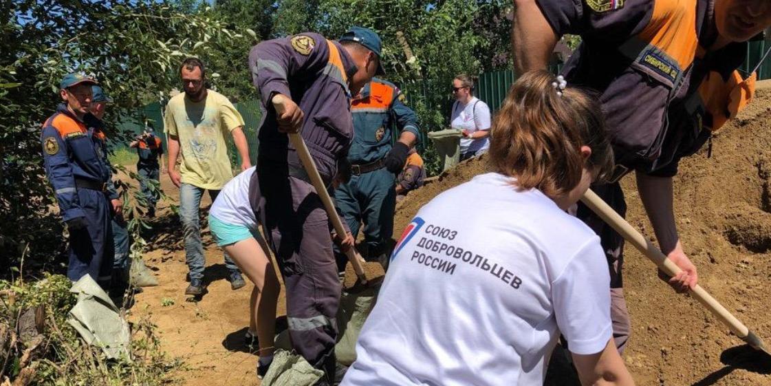 В Союзе добровольцев рассказали о борьбе с последствиями наводнения в Забайкалье
