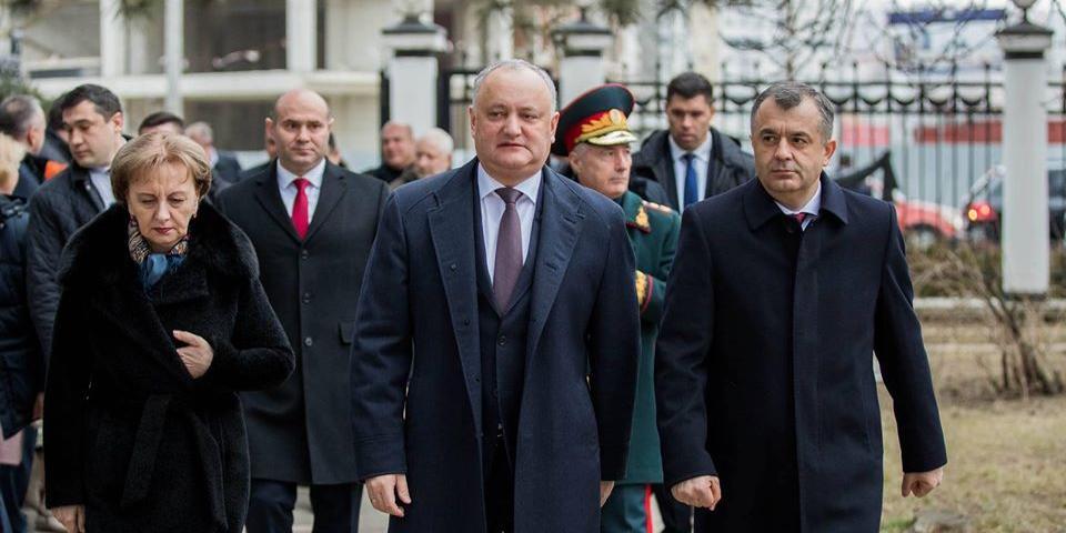 Додон назвал сроки вывода российских военных из Приднестровья