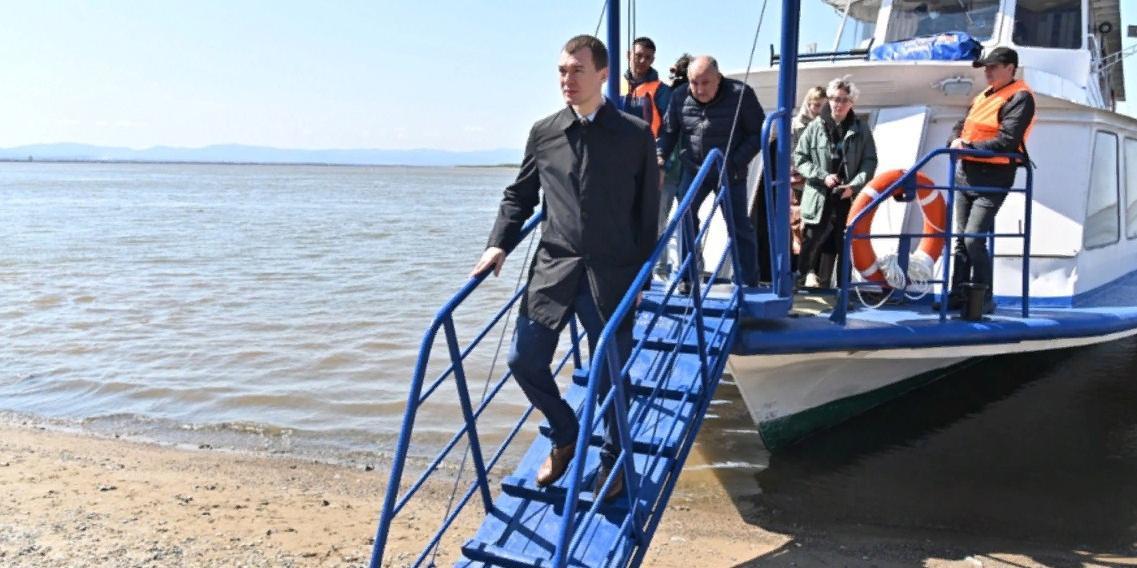 Дегтярев выполнил обещание по запуску речной навигации в Хабаровске